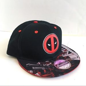 Men's Deadpool Snapback Hat